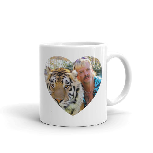 Tiger King Hearts Mug
