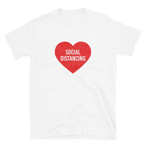 Social Distancing Unisex Short-Sleeve T-Shirt