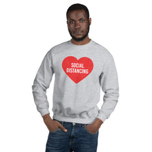 Load image into Gallery viewer, Social Distancing Unisex Crewneck Sweatshirt