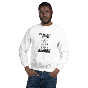 Free Joe Exotic Unisex Crewneck
