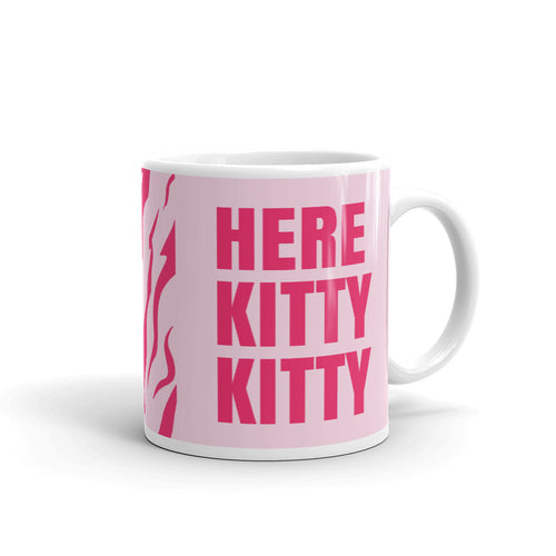 Here Kitty Kitty Tiger King Mug