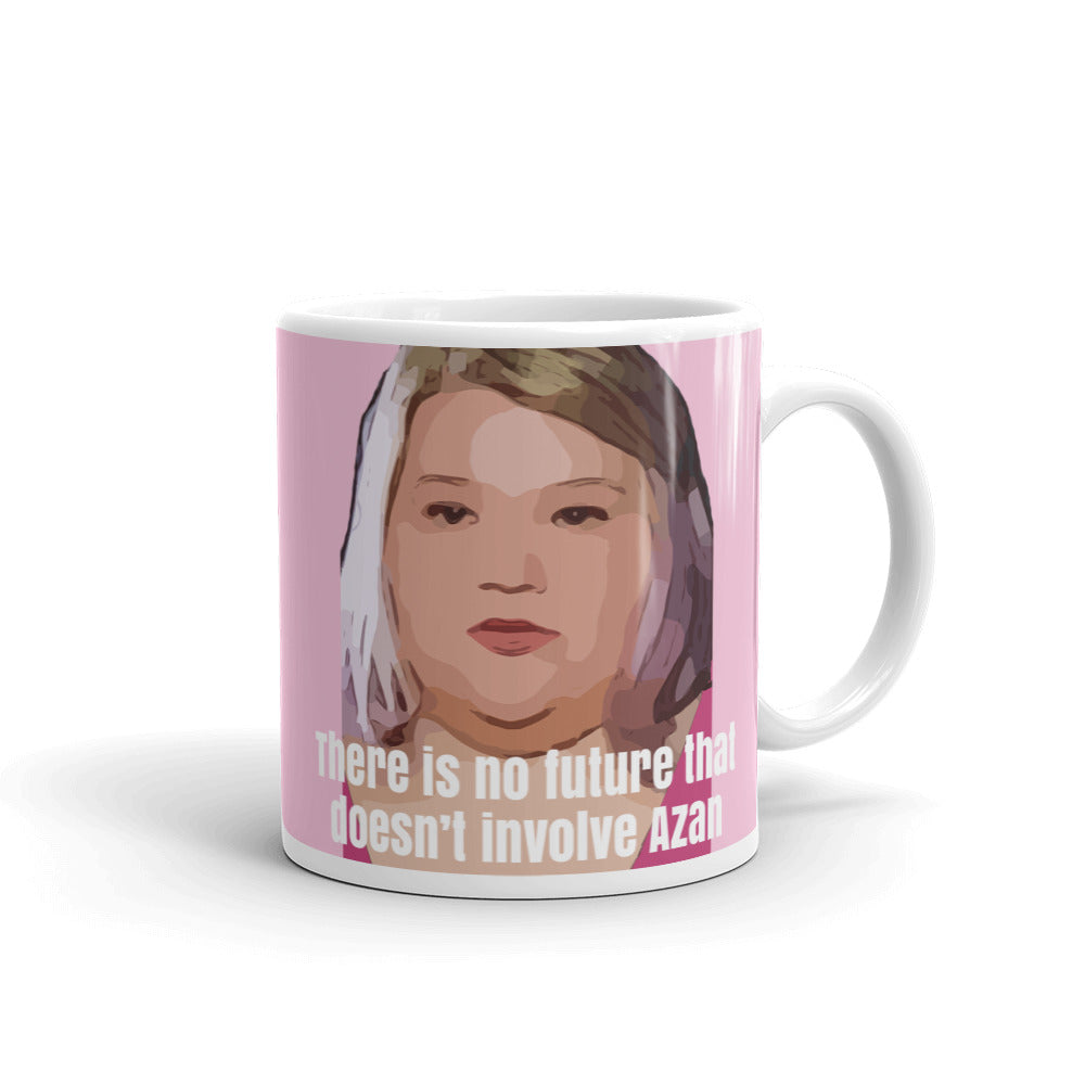 Nicole No Future Without Azan Mug
