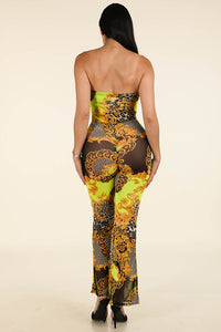 Exotic Tube Jumpsuit