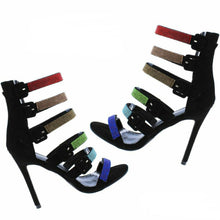 Load image into Gallery viewer, Queen Multi-Color Heels
