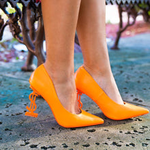 Load image into Gallery viewer, Priceless Orange Heels