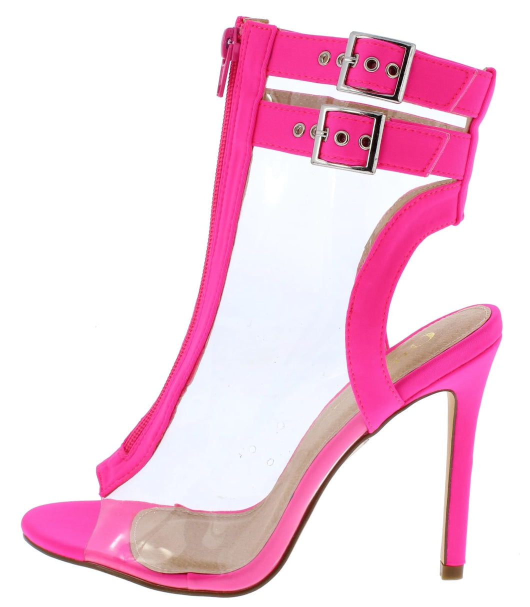 Mindy Hot Pink Boot