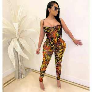 Tropical Garden Leggings Set