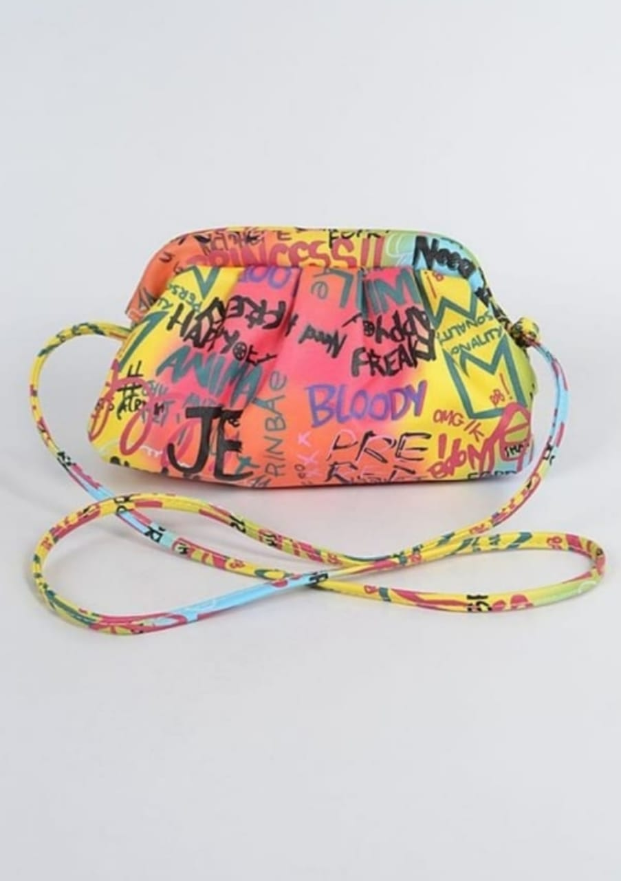 Graffiti Clutch