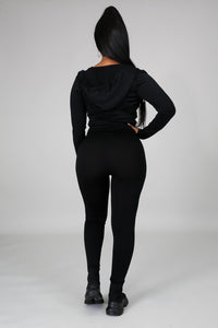Curves Leggings Set