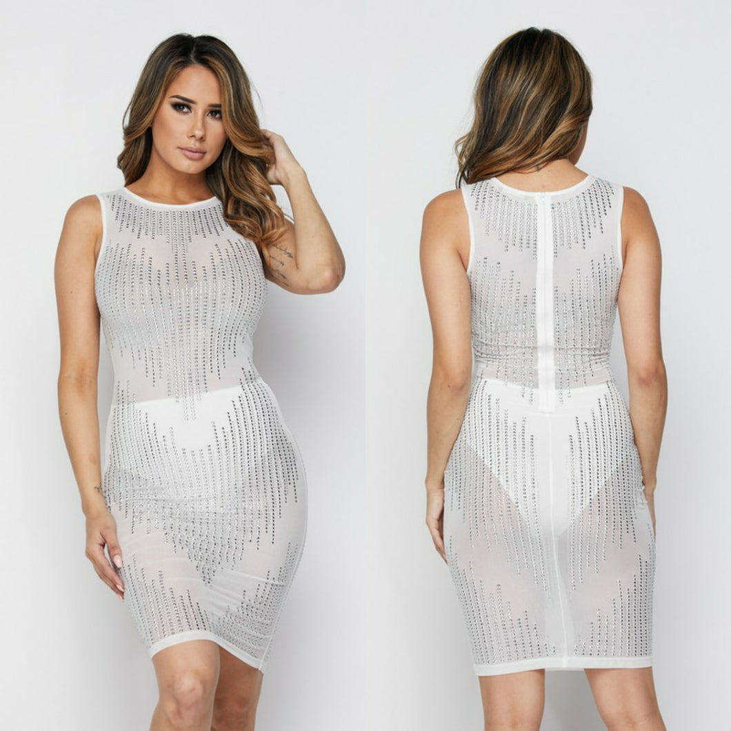 Brandy Rhinestone Dress