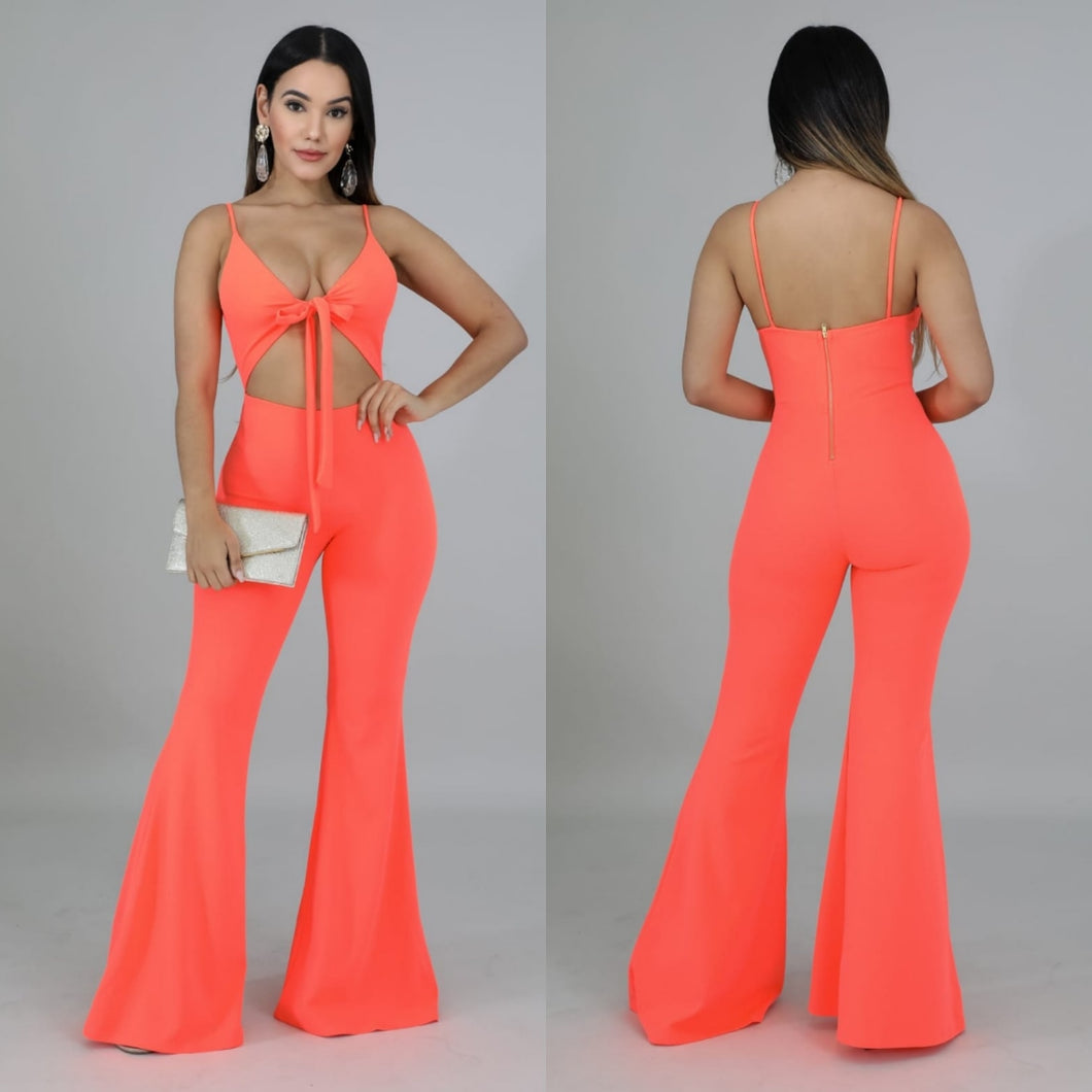 Flor Bow Jumpsuit
