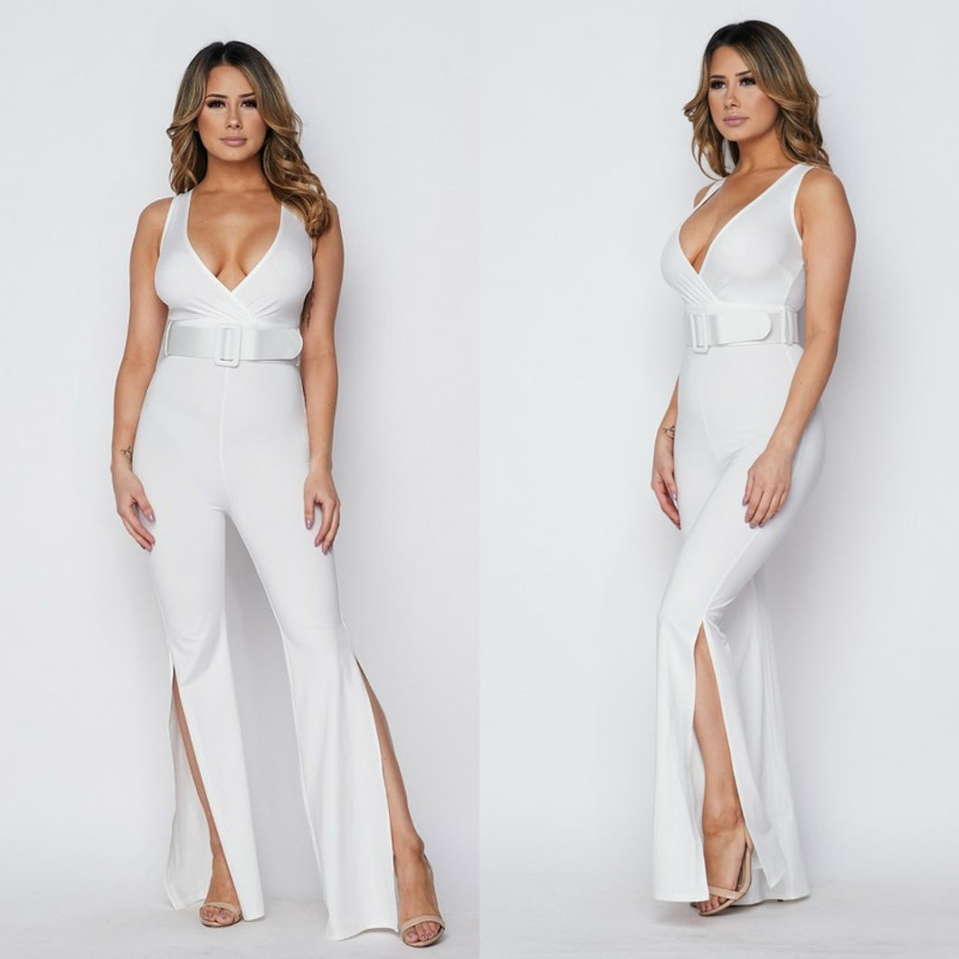 Susan Side Slit Jumpsuit