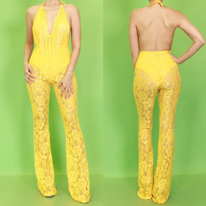 Monica Lace Jumpsuit