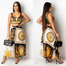 Load image into Gallery viewer, Sasha Pleated Skirt Set