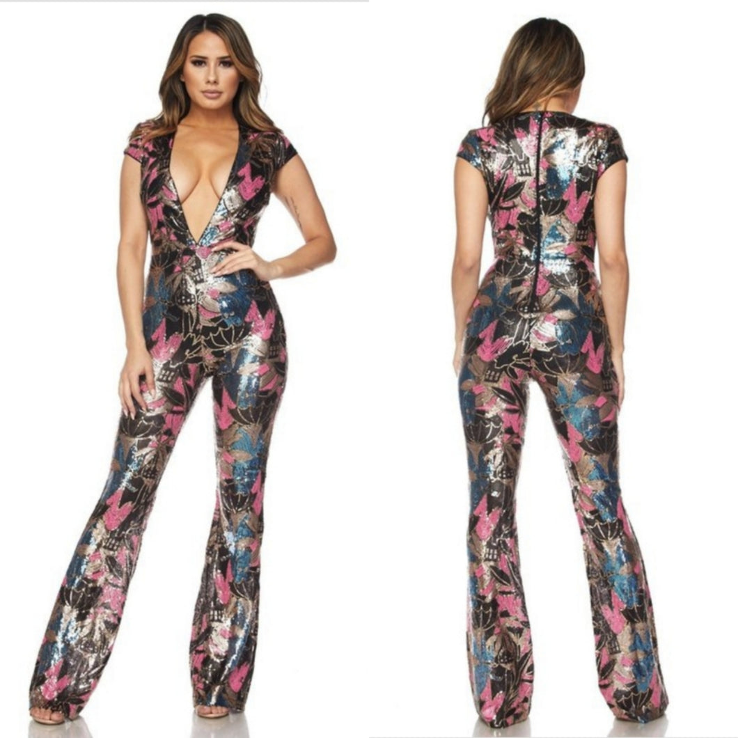 Spring It On Jumpsuit