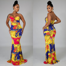 Load image into Gallery viewer, Golden Maxi Dress
