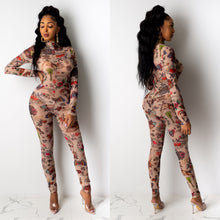 Load image into Gallery viewer, Tattoo Print Jumpsuit