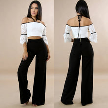 Load image into Gallery viewer, Classic Black Palazzo Pants