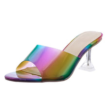 Load image into Gallery viewer, Rainbow Heels