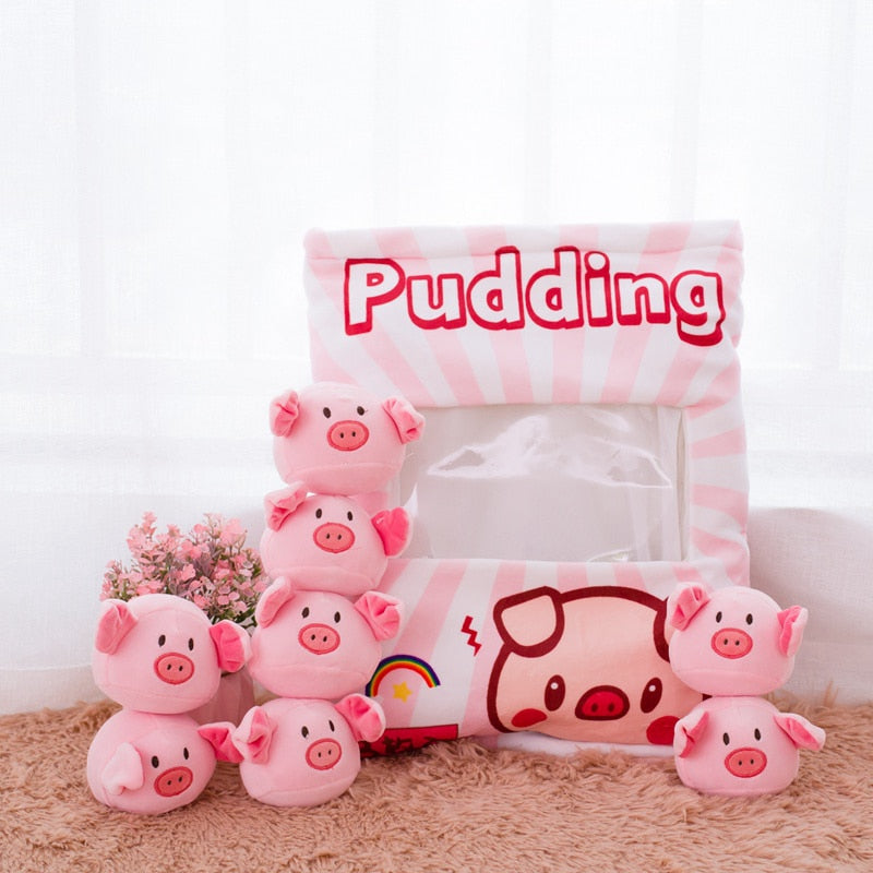 Kawaii Bag of Plushies - Piggy Plushies