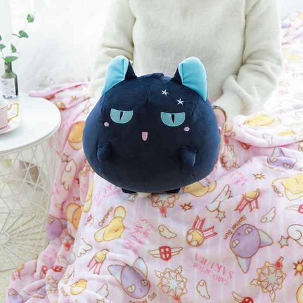 Anime Plushie Blanket Friends