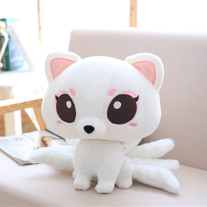 Kawaii Nine-Tailed Fox Plushie