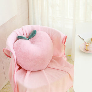 Kawaii Peach Cushion