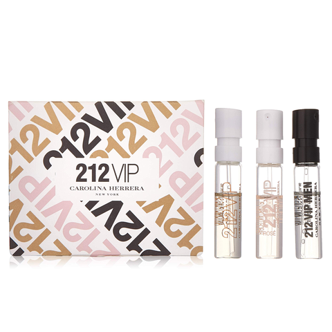 212 VIP by Carolina Herrera 3 Piece Gift Set
