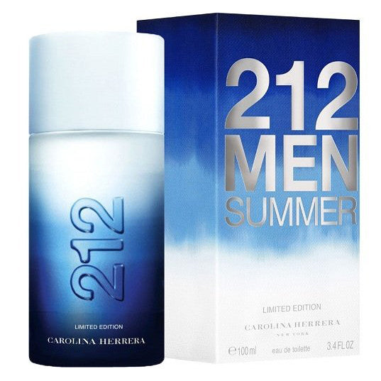 212 Men Summer by Carolina Herrera 100ml EDT