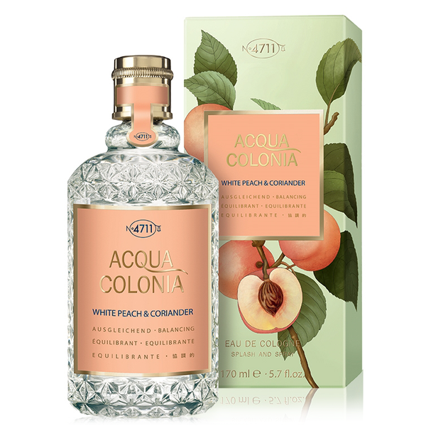 4711 Acqua Colonia White Peach & Coriander 170ml EDC