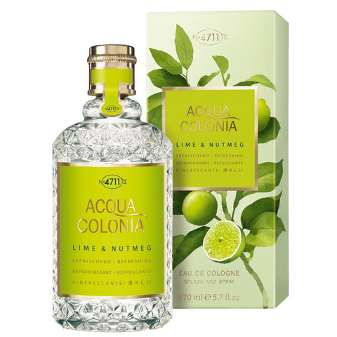 4711 Acqua Colonia Lime & Nutmeg 170ml EDC
