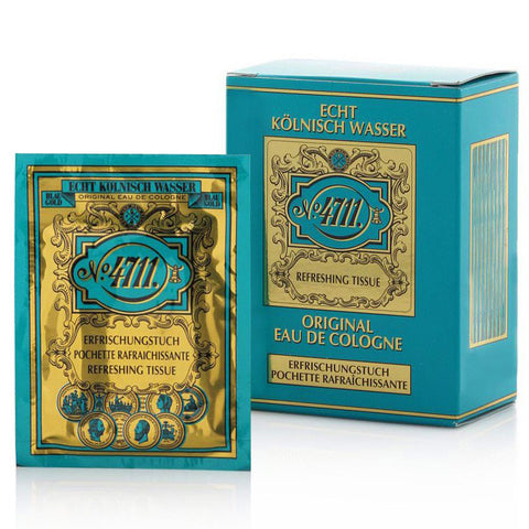 4711 Original Eau De Cologne by Maurer & Wirtz 10 Refreshing Tissues