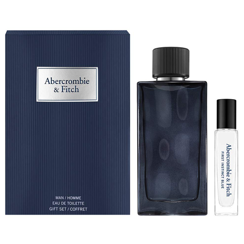First Instinct Blue by Abercrombie & Fitch 100ml EDT 2 Piece Gift Set