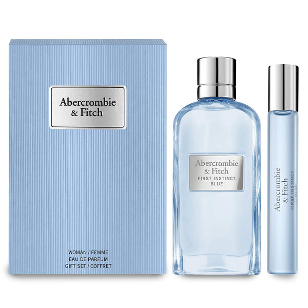 First Instinct Blue by Abercrombie & Fitch 100ml EDP 2 Piece Gift Set