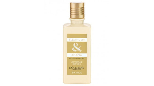 L'Occitane Fleur D'Or and Acacia Body Milk 250ml