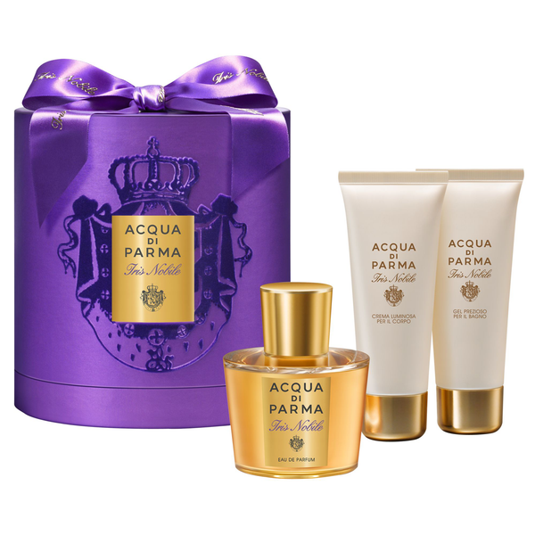 Iris Nobile by Acqua Di Parma 100ml EDP 3 Piece Gift Set