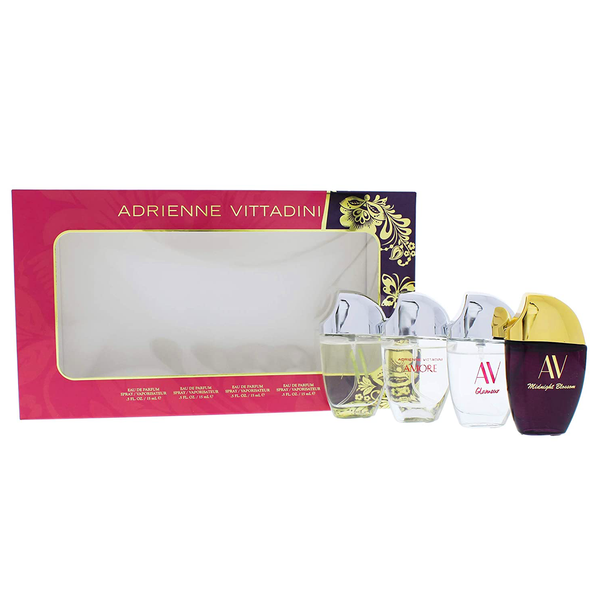 Adrienne Vittadini Perfume Collection 4 Piece Gift Set
