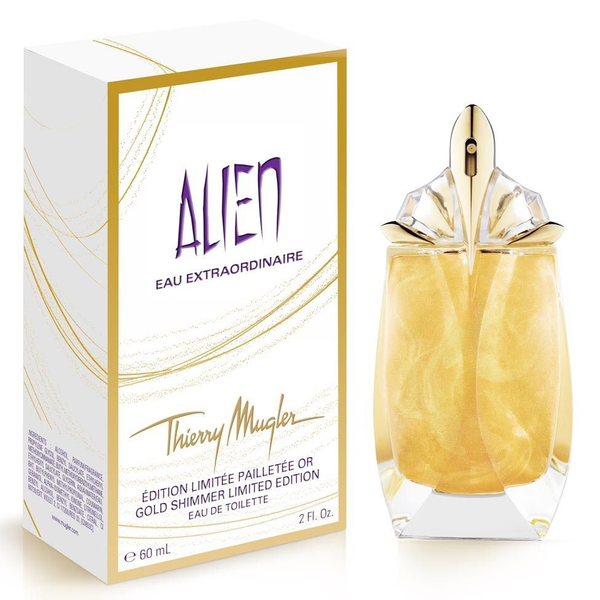Alien Eau Extraordinaire Gold Shimmer by Thierry Mugler 60ml EDT