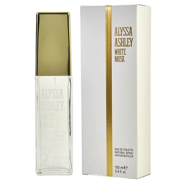 White Musk by Alyssa Ashley 100ml EDT