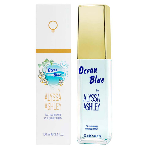 Ocean Blue by Alyssa Ashley 100ml Eau Parfumee Cologne