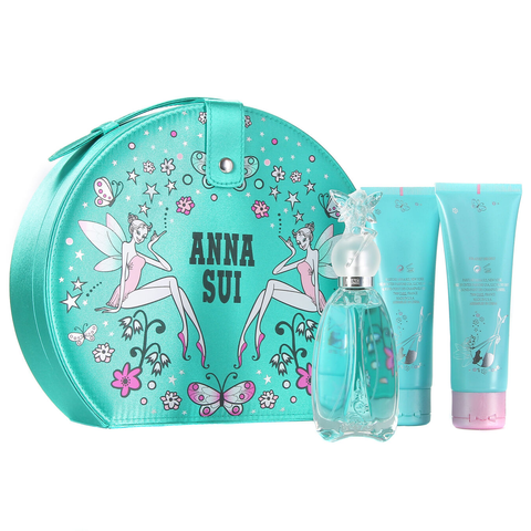 Secret Wish by Anna Sui 50ml EDT 4 Piece Gift Set