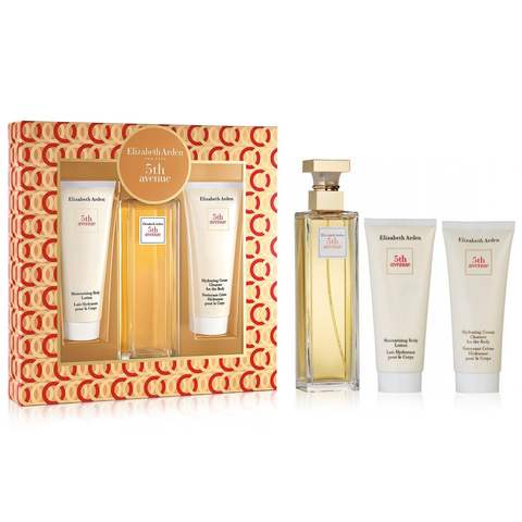 5th Avenue by Elizabeth Arden 125ml EDP 3 Piece Gift Set