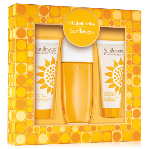 Sunflowers by Elizabeth Arden 100ml EDT 3 Piece Gift Set