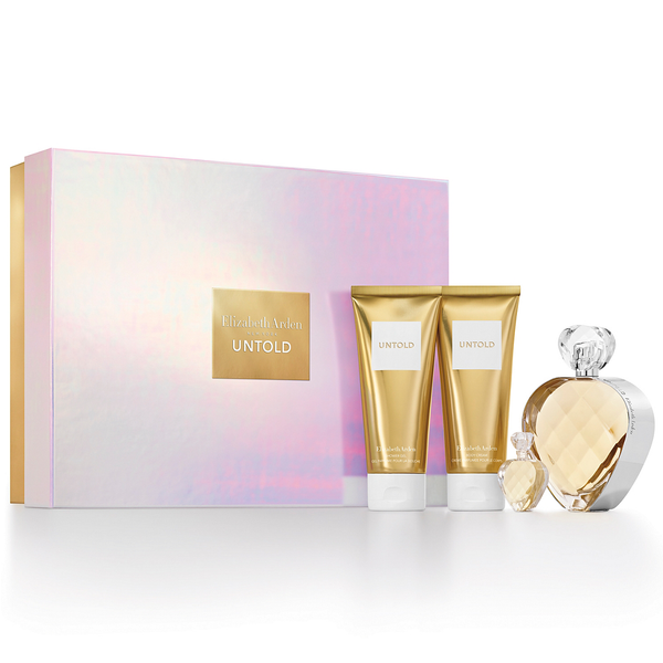 Untold by Elizabeth Arden 100ml EDP 4 Piece Gift Set