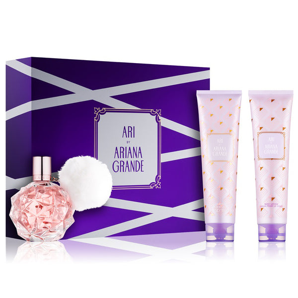 Ari by Ariana Grande 100ml EDP 3 Piece Gift Set