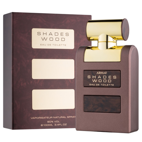 Shades Wood by Armaf 100ml EDT for Men