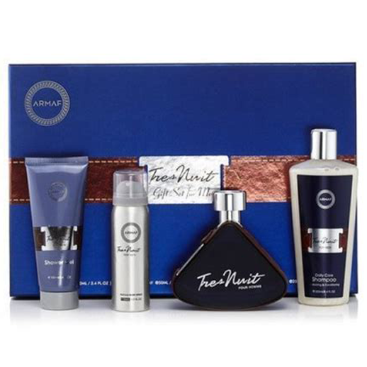 Tres Nuit by Armaf 100ml EDT 4 Piece Gift Set
