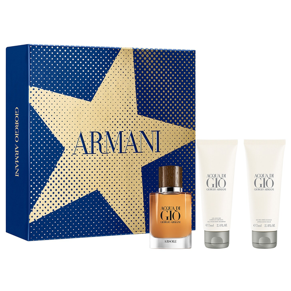 Acqua Di Gio Absolu by Giorgio Armani 40ml EDP 3pc Gift Set