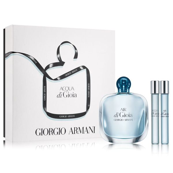 Air Di Gioia by Giorgio Armani 100ml EDP 3 Piece Gift Set