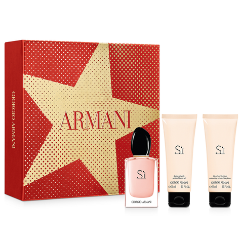 Si Fiori by Giorgio Armani 50ml EDP 3 Piece Gift Set